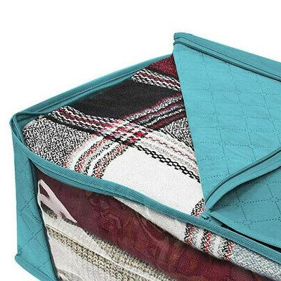 Foldable Blankets Quilt Container