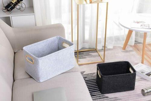 Foldable Basket Organizer Boxes Kids