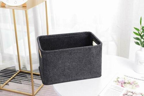 foldable storage basket bins organizer boxes containers