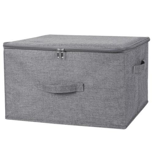 with Lid Heavy Duty Fabric Cube