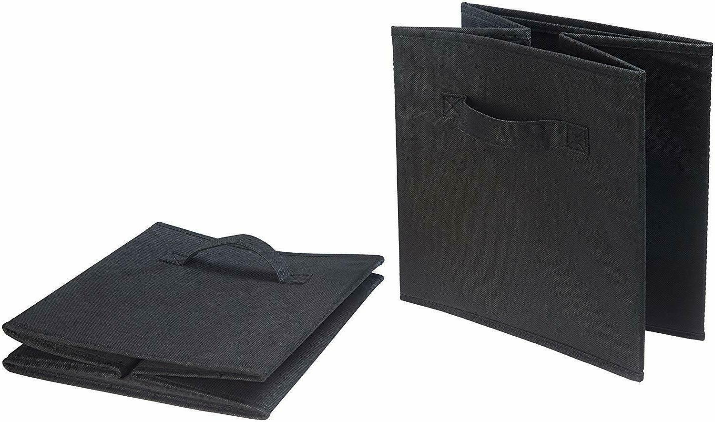AmazonBasics Cubes 6-Pack, Black