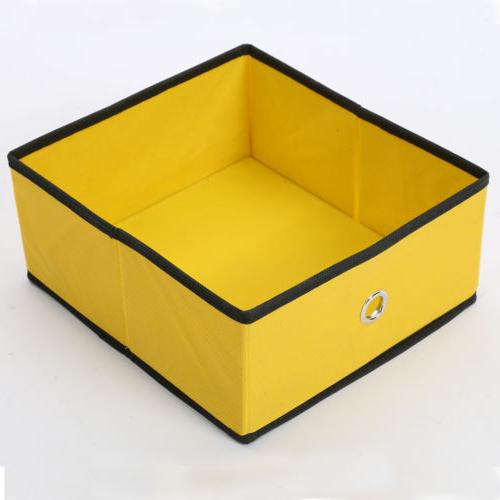 Foldable Drawer Container Home Fabric