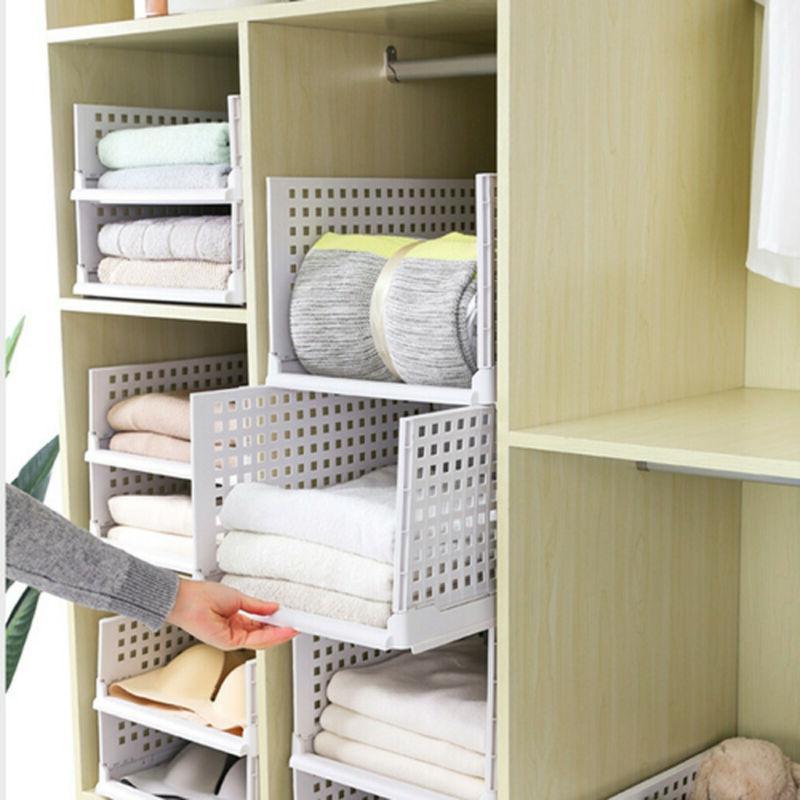 Foldable Storage Box Household Divider Drawer Framer Box