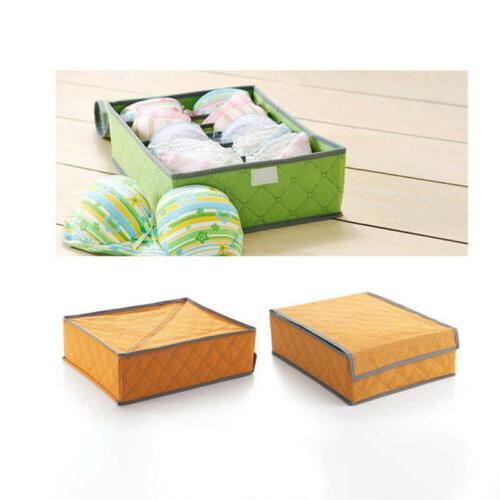 Foldable Storage Underwear Bra Ties Closet Container