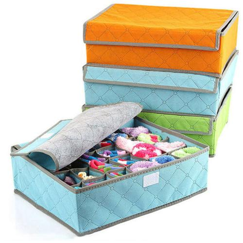 Foldable Storage Box Organizer Underwear Socks Closet