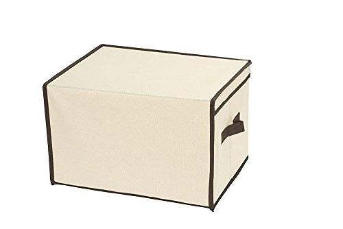 Juvale Set Foldable Storage Boxes Lid - Clothing Storage Bins Clothes, Documents, - x x Inches