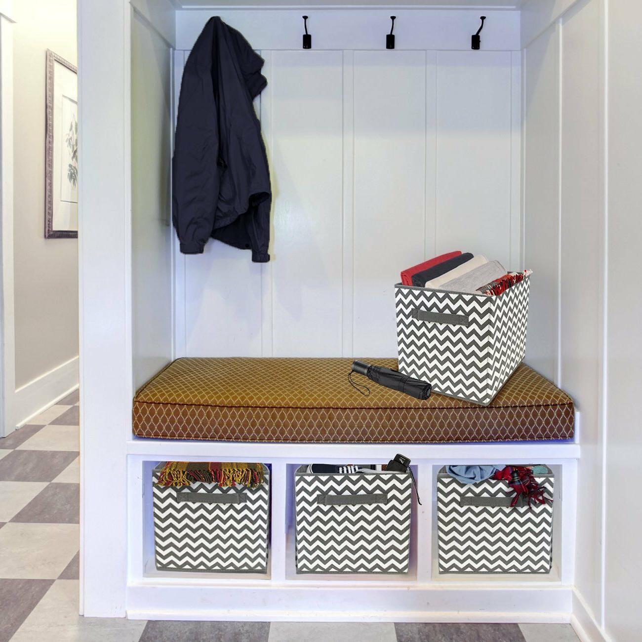 Foldable Storage Basket Bin, Pattern