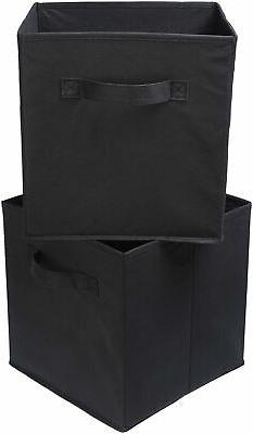 AmazonBasics Foldable Storage - Black