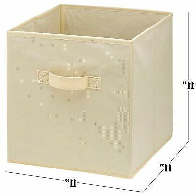 Foldable Cubes Pack Bins Shelf Organizer