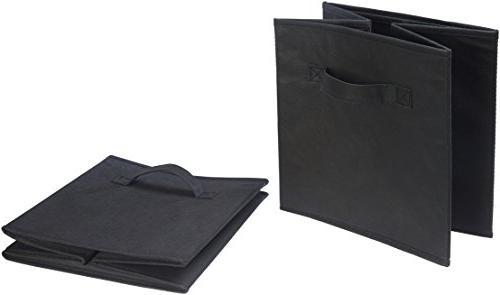 AmazonBasics Foldable - 6-Pack, Black
