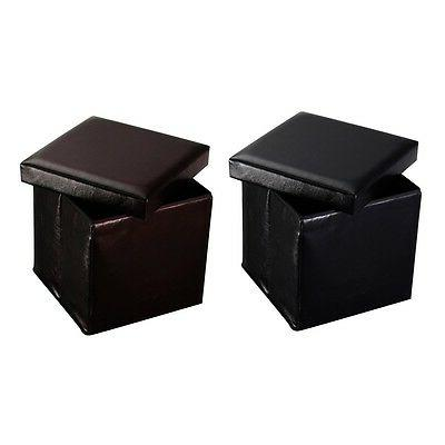 Folding Cube Ottoman Lounge Footstools