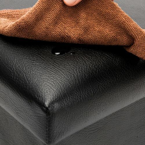 Folding Storage Lounge Stool