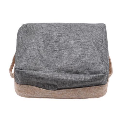 Folding Box Canvas Cube Drawer Cloth Bag