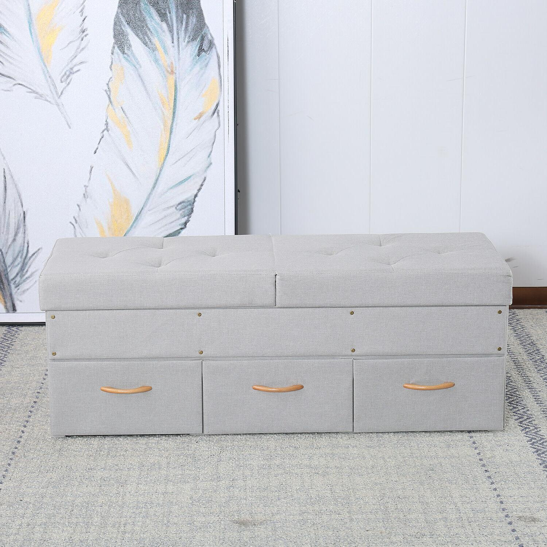 Folding Storage Box Lounge 30-47 inch