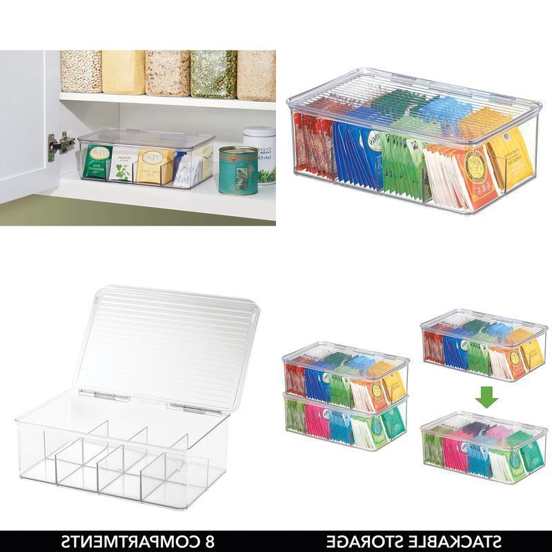Food Savers  Storage Containers Mdesign Tea Bag Single Serve