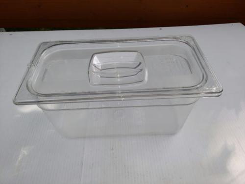Rubbermaid Commercial Food Storage Box, 5.4 Qt, EN 631-1, Cl