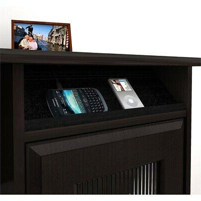 Bush Furniture Shaped Desk Espresso