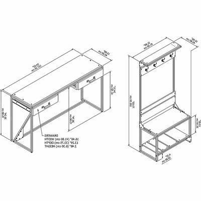 Bush Storage Set with Table