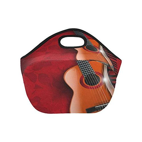 Gogogosky Custom Acoustic Brown And Piano Lunch Box Food Savers Storage