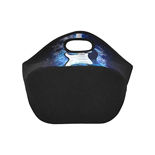 Gogogosky Custom Reusable Guitar Flames Lunch Box Food Containers