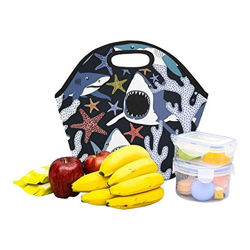 Gogogosky Sharks Lunch Lunch Tote Bag