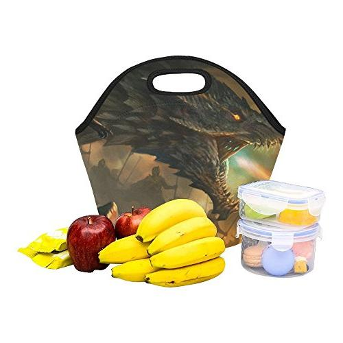 Gogogosky Neoprene Lunch Box Tote