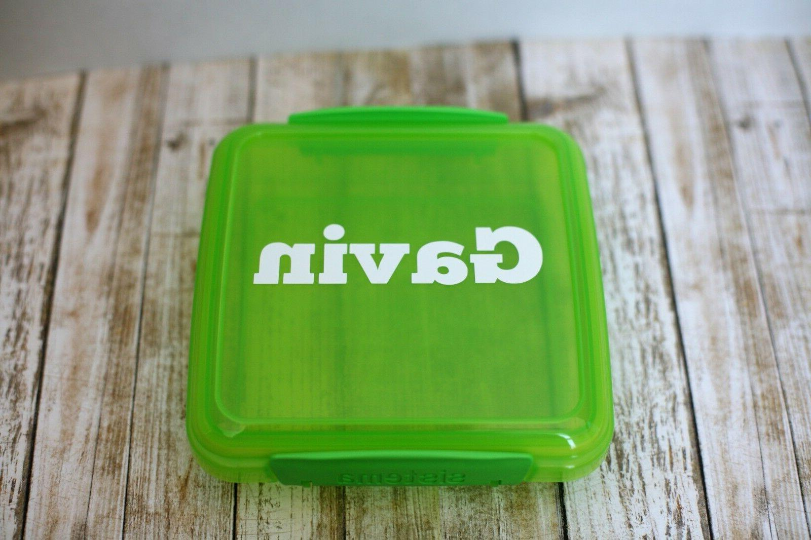 Green Sistema Sandwich Containers