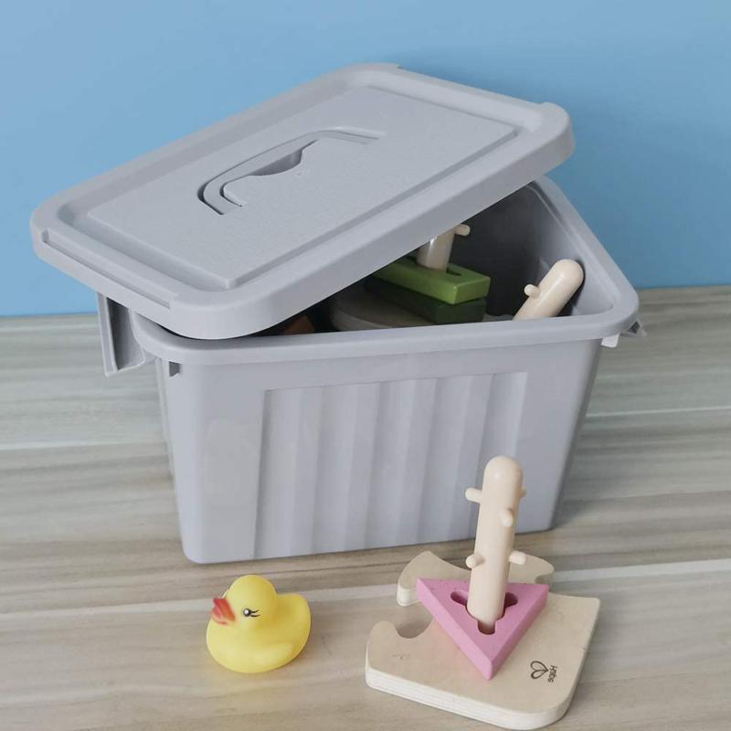 Grey Plastic 6 Container Pack Jekiyo