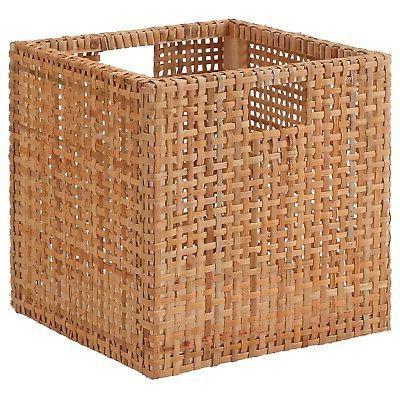 Ikea Storage Basket 11 ¾ x11 ¾x 11