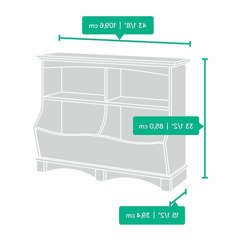 Sauder Bin Storage Oak Organizer Box