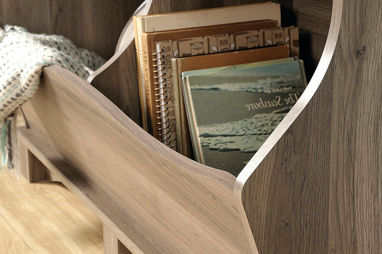 Sauder View Bin Storage Oak Cabinet