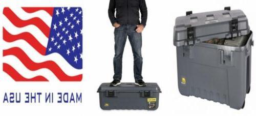 heavy duty sportsman s trunk grey 108