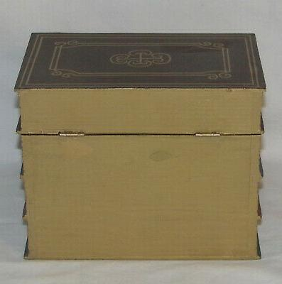 Hideaway Book Box Safe Safe Storage Box NOS