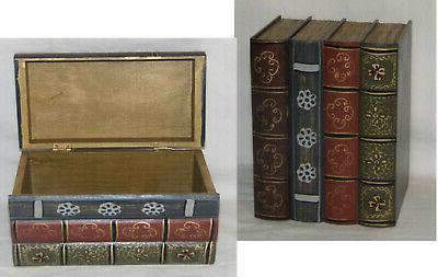 hideaway book box book safe wooden book