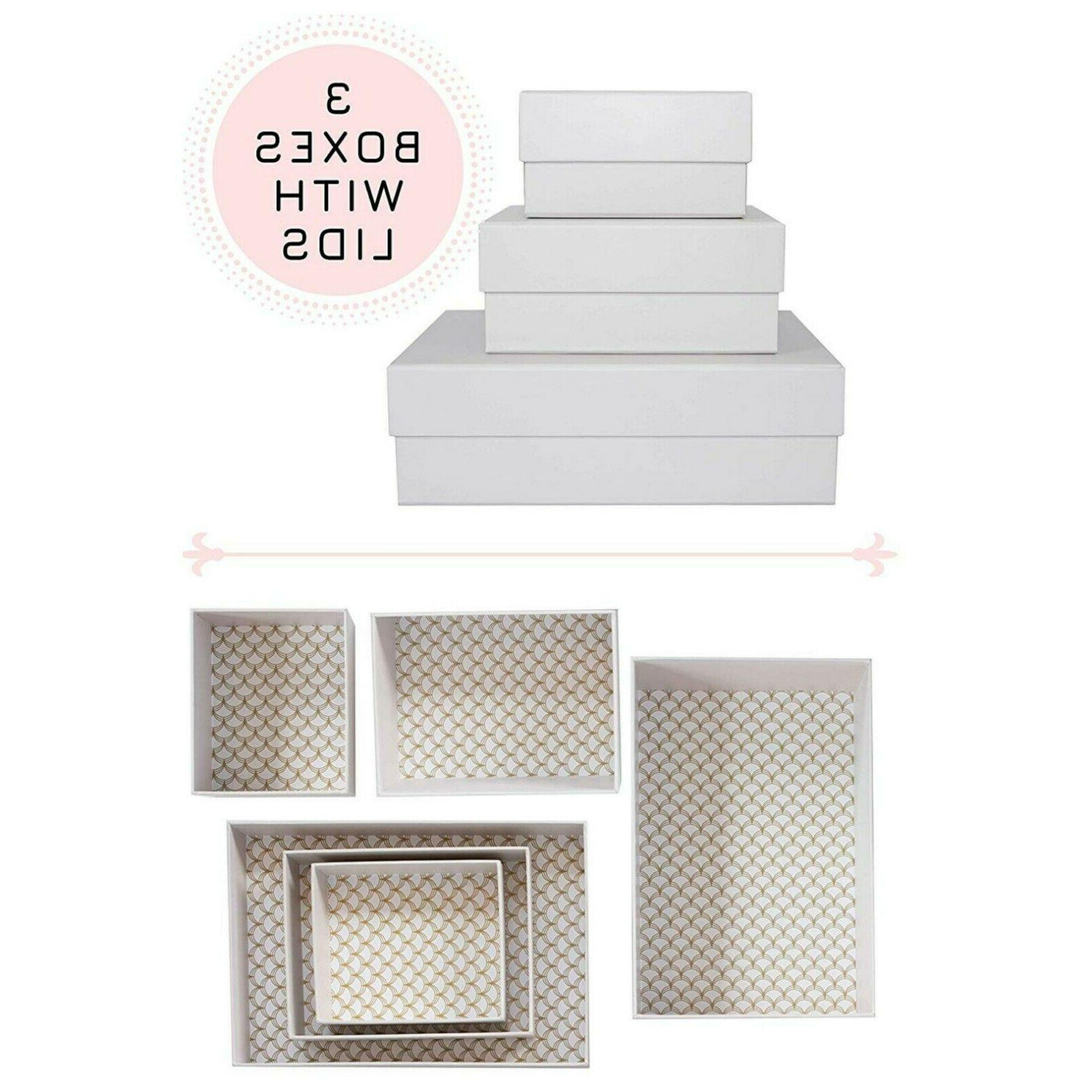 hikidashi box set of 3 marie kondo