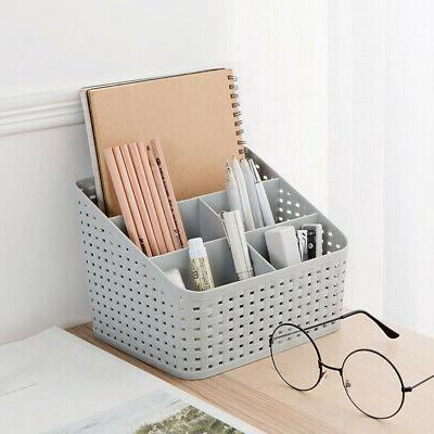 home office desktop storage box makeup cosmetic