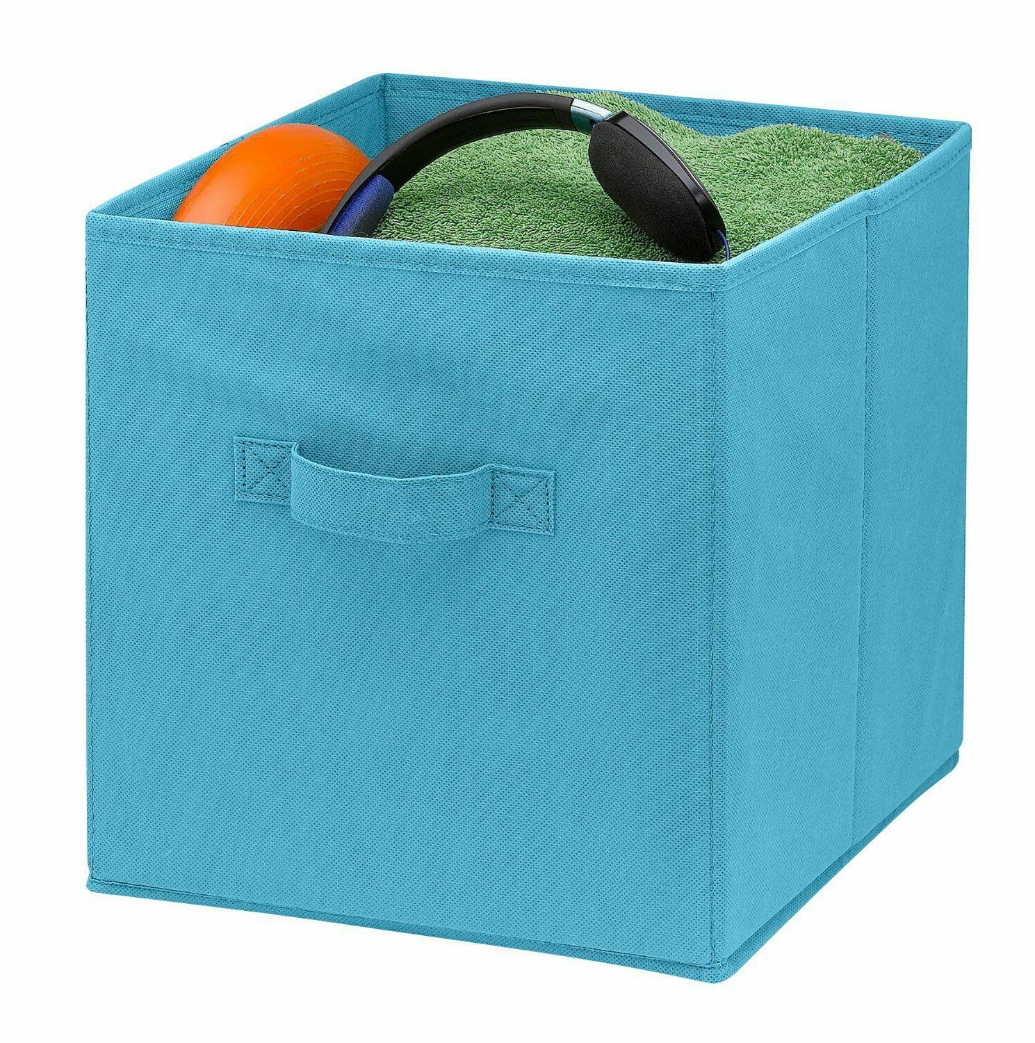 Home Collapsible Fabric Shelf Basket