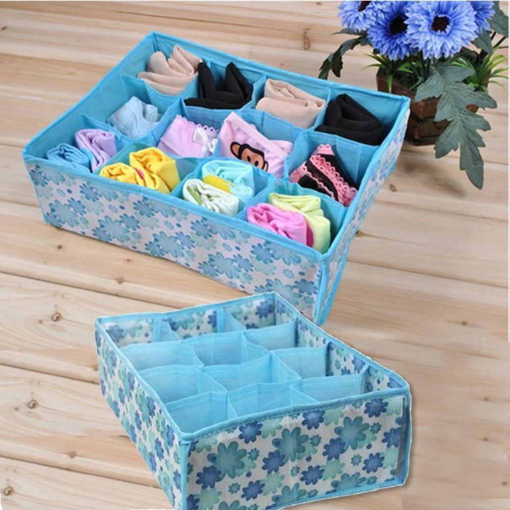 Home Storage Socks Underwear Ties Organizer Bin Clothing