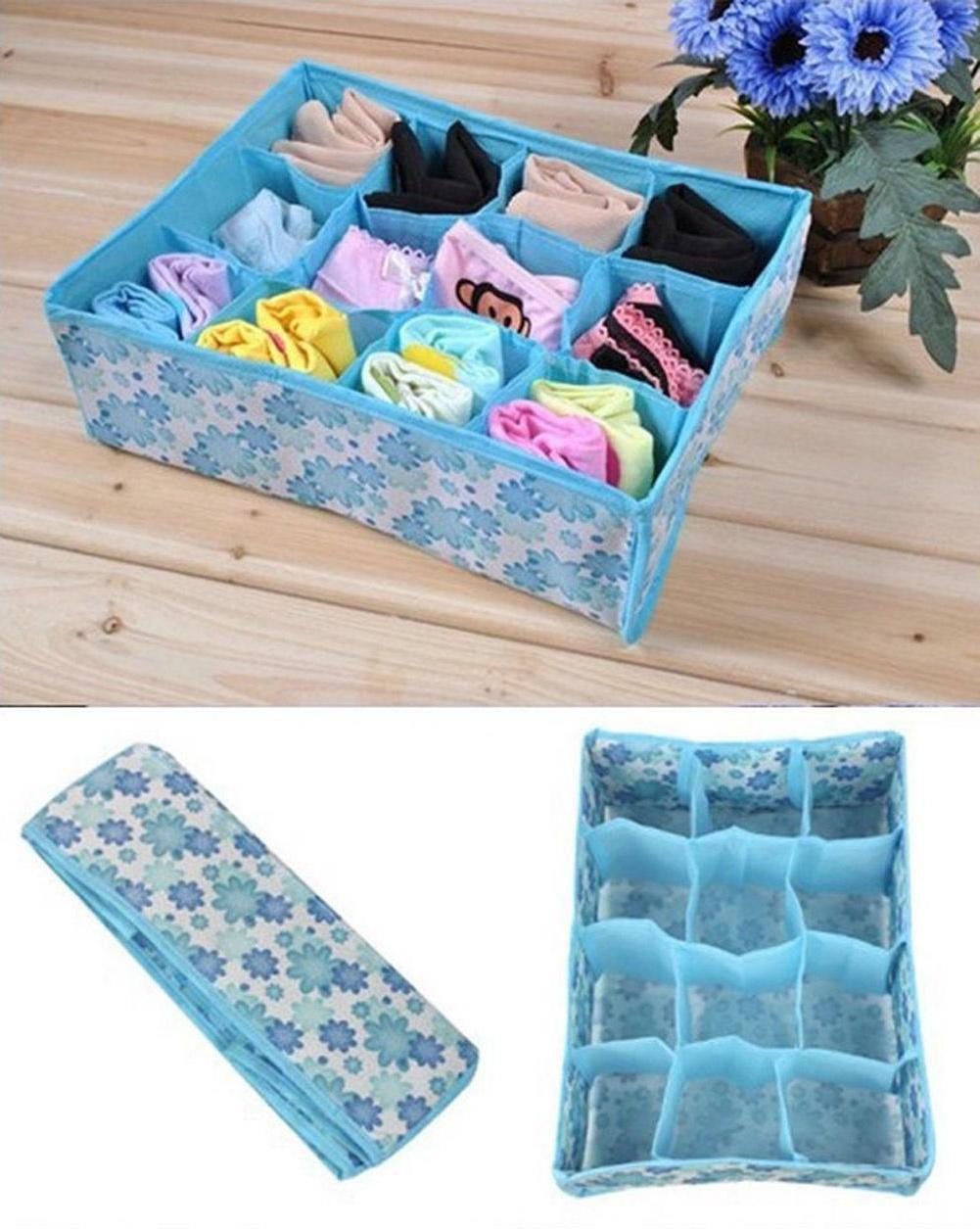 Home Box Underwear Ties Closet Organizer Clothing Case