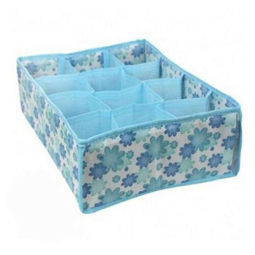 Home Storage Box Underwear Organizer Bin Clothing Case