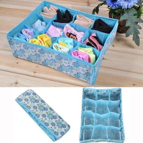 home storage box socks underwear ties closet