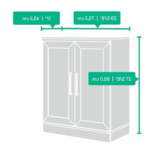 """Sauder Cabinet L: W: x 37.40"""""""