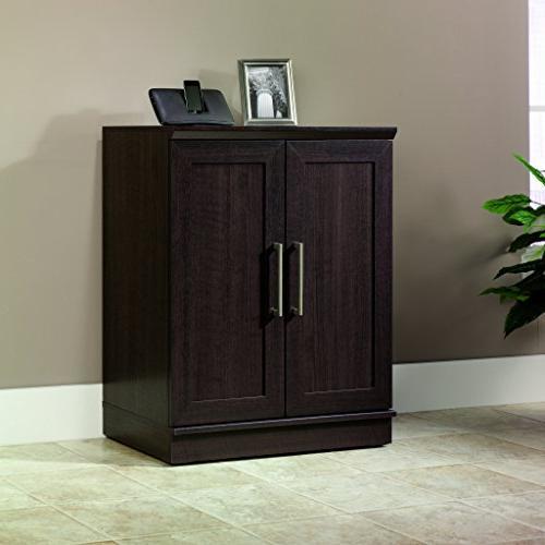"Sauder 411591 Homeplus Cabinet W: 17.01"" x H: 37.40"" Dakota finsh"