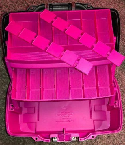 HOT Creative Craft Supplies Storage Options 2-Tray Box