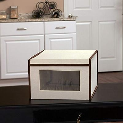 Household Boxes 502 Drop Front Storage Box, Large