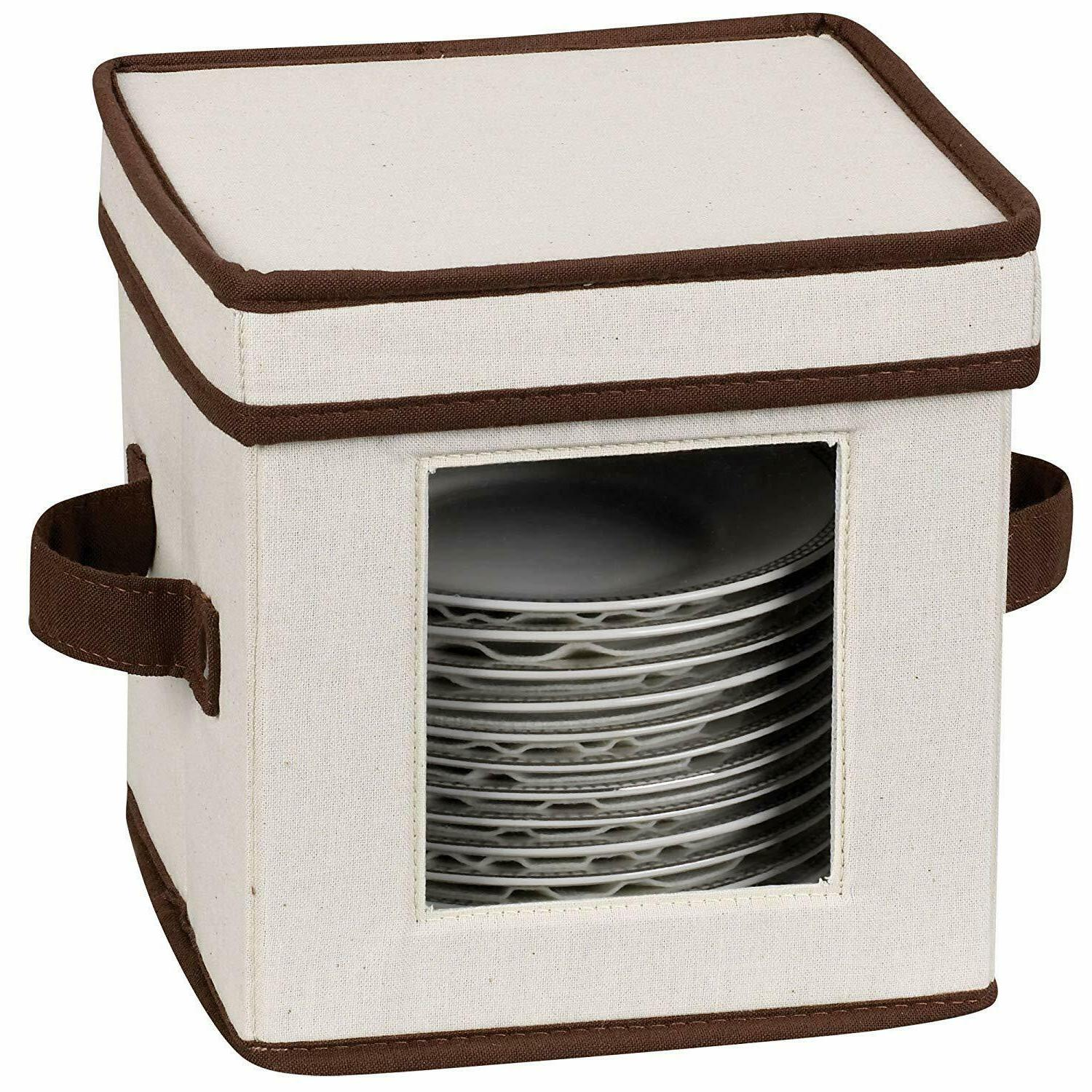 Household 530 Dinnerware Box with Lid and
