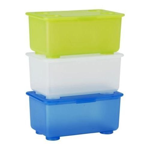 ikea storage blue green