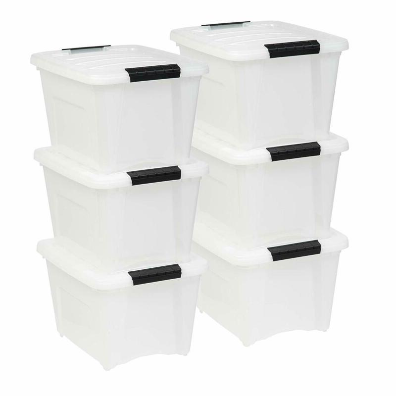 IRIS USA, Inc TB-17 19 Quart Stack  Pull Box, Multi-purpose