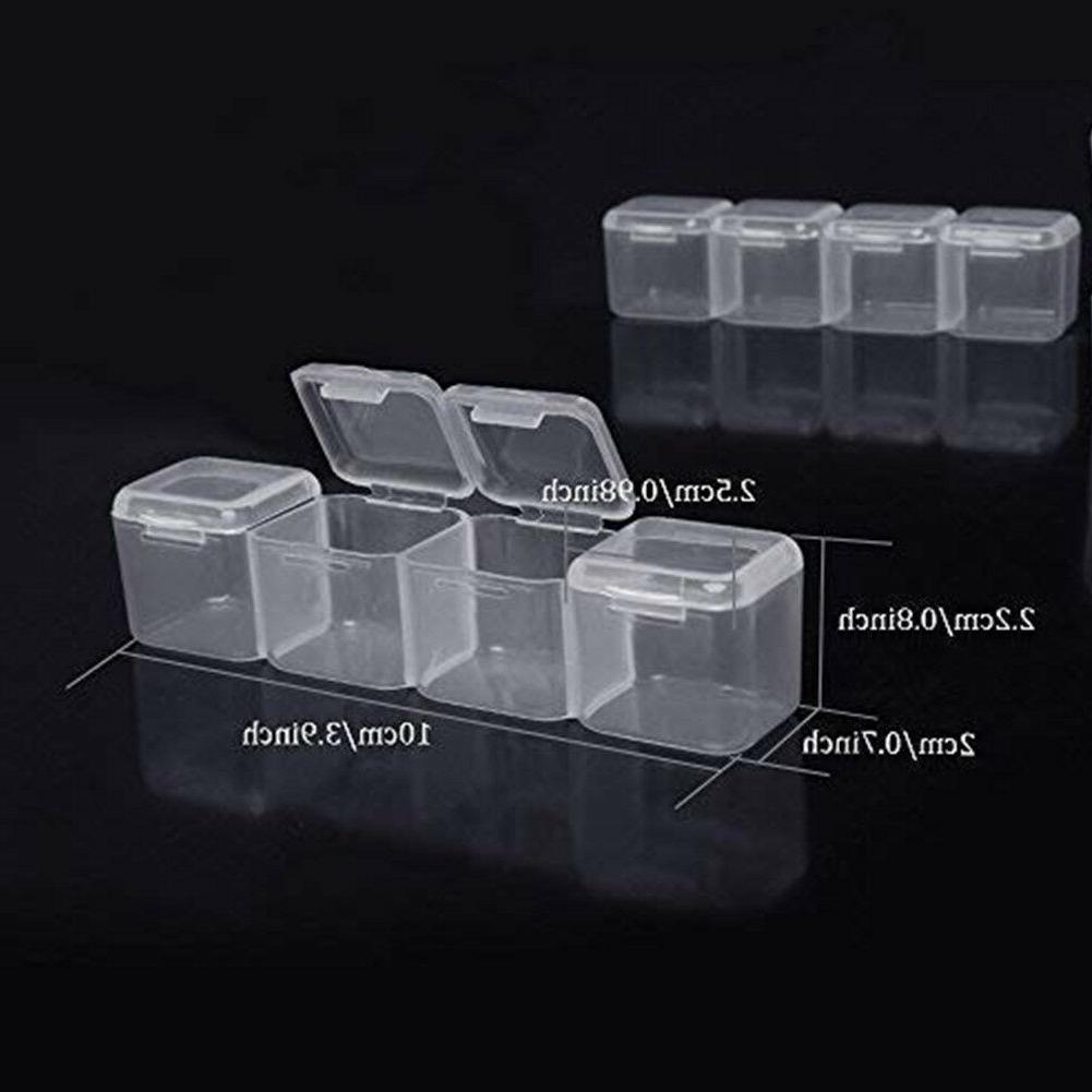 Jewelry Storage Box 28 Cavities Adjustable Dividers Box