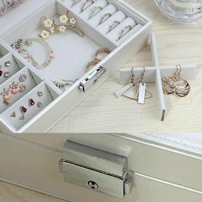 Jewelry Storage Ring Necklace Display Organizer Gift
